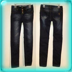 VIP Jeans dark blue denim size 1/2 skinny